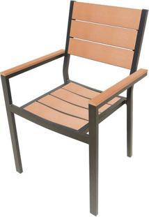 Cadeira Palmeira Amendoa Polywood 89 Cm (Alt) - 43502 Sun House