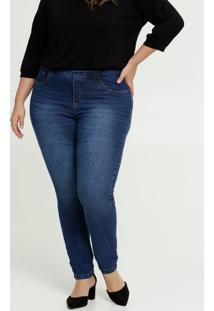 Calça Skinny Feminina Plus Size Uber Jeans