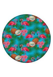 Tapete Love Decor Redondo Wevans Tropical 94Cm