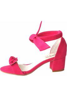 Sandália Blume Calçados Hit Pink