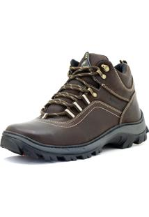 Bota Tênis Trilha Atron Shoes Adventure 256 Café