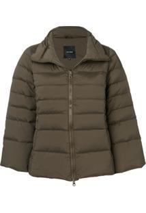 Duvetica Short Puffer Jacket - Green