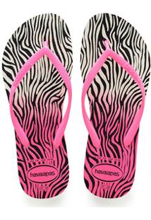 Chinelo Feminino Havaianas Slim Animals 8519