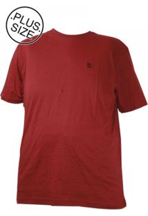 Camiseta Plus Size Gangster Original Vinho