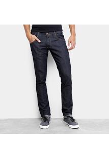 Calça Jeans Skinny Biotipo Super Escura Masculina - Masculino
