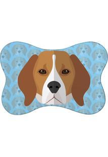 Tapete Pet Mdecore Beagle Azul 46X33Cm