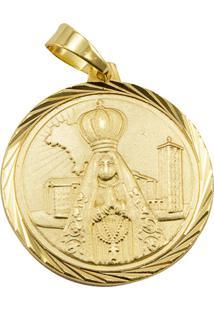 Pingente Nossa Senhora Aparecida Tudo Jóias Folheado Dourado