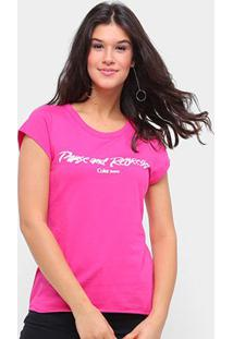 Camiseta Coca Cola Pause And Refresh Feminina - Feminino