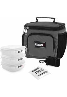 Bolsa Térmica Fitness Dagg 1,5L - Unissex-Cinza