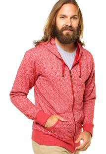 Jaqueta Redley Estampada Vermelha