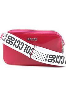 Bolsa Colcci Mini Bag Santorini Feminina - Feminino-Rosa+Pink