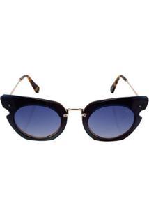 Óculos Euro Feminino Camadas Power - Feminino-Preto