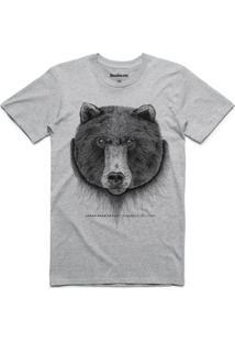 Camiseta Urso Linoleum Masculina - Masculino