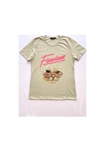 Camiseta Gorgeous Cat Cinza