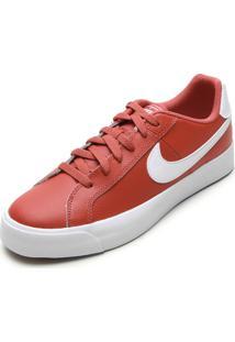 Tênis Couro Nike Sportswear Court Royale Ac Vermelho