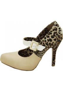 Sapato Cristhi Shoes Boneca Marfim