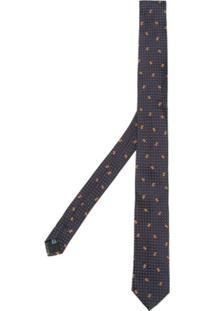Dolce & Gabbana Gravata De Seda - Azul
