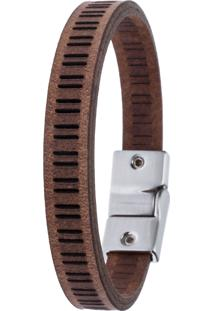 Pulseira Tatiane Jagher Double Mesh - Destroyed Camel