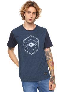 Camiseta Quiksilver Pack Avant Azul