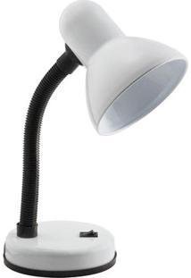 Luminária De Mesa Orientável Viking B Startec 35Cmx13Cm Branco