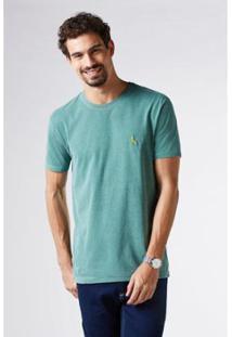 Camiseta Pra Torcer Pica Pau Bordado Reserva Masculina - Masculino-Verde