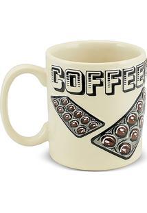 Caneca Coffe Time-Coffeeholic 300Ml-Mondoceram - Areia