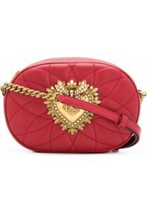 Dolce & Gabbana Bolsa Transversal Devotion - Vermelho