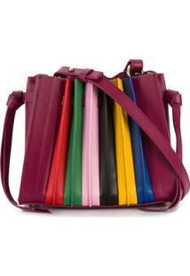 Sara Battaglia Franca Mini Shoulder Bag - Rosa