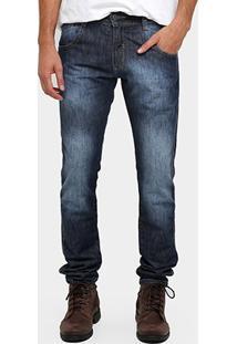 Calça Jeans Biotipo Reta Estonada - Masculino