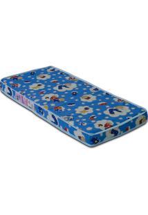 Colchão Baby Physical D18 70X130X10 - Ortobom - Azul