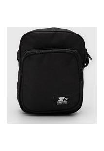 Bolsa Starter Shoulder Bag Patch Preta