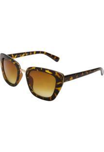 Óculos Ray Flector Buckingham Rf276Co - Feminino-Amarelo+Preto