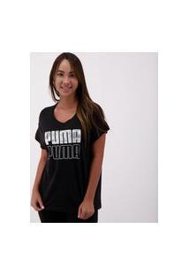 Camiseta Puma Modern Sport Graphic Feminina