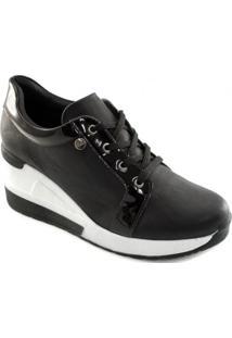 Tênis Sneaker Anabela Feminino Quiz 37913