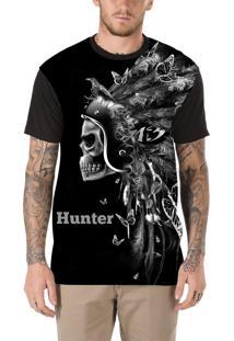 Camiseta Hunter Indian Preta