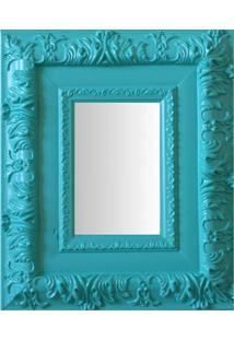 Espelho Moldura Rococó Externo 16259 Anis Art Shop