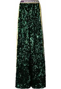 Dolce & Gabbana Calça Fashion Devotion Com Lantejoula - Verde