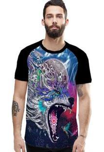 Camiseta Stompy Raglan Modelo 08 Masculina - Masculino