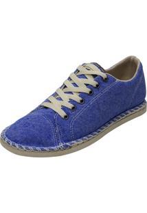 Alpargata Arrive Fashion Com Cadarço Anastácia Jeans Azul Claro