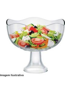 Saladeira De Vidro Com Pé Wave 3,8L - 29482