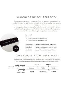 Óculos De Sol Persol Po3105S Marrom