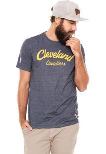 Camiseta New Era Cleveland Cavaliers Nba Cinza