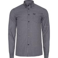 Camisa Masculina Three Colour Gingham - Preto 5839cc73c01ac