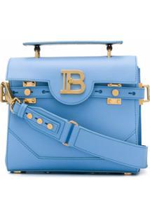 Balmain Bolsa Tote B-Buzz 23 - Azul