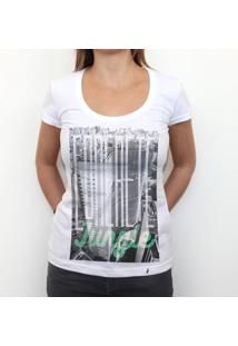 Concrete Jungle - Camiseta Clássica Feminina