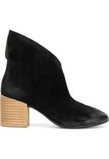 Marsèll Ankle Boot Assimétrica - Preto