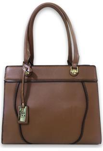 Bolsa Casual Transversal Sys Fashion 8531 Marrom