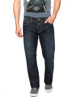 Calça Jeans Forum Paul Pespontos Azul