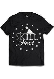 Camiseta Skill Head Mountain - Masculino