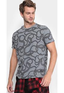 Camiseta Ellus Estonada Corda Masculina - Masculino